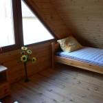 Domek wędkarski sypialnia 2 osobowa